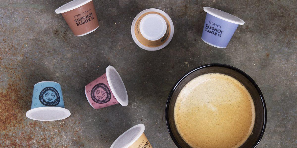 De Koffiejongens abonnement review - biologisch afbreekbare cups