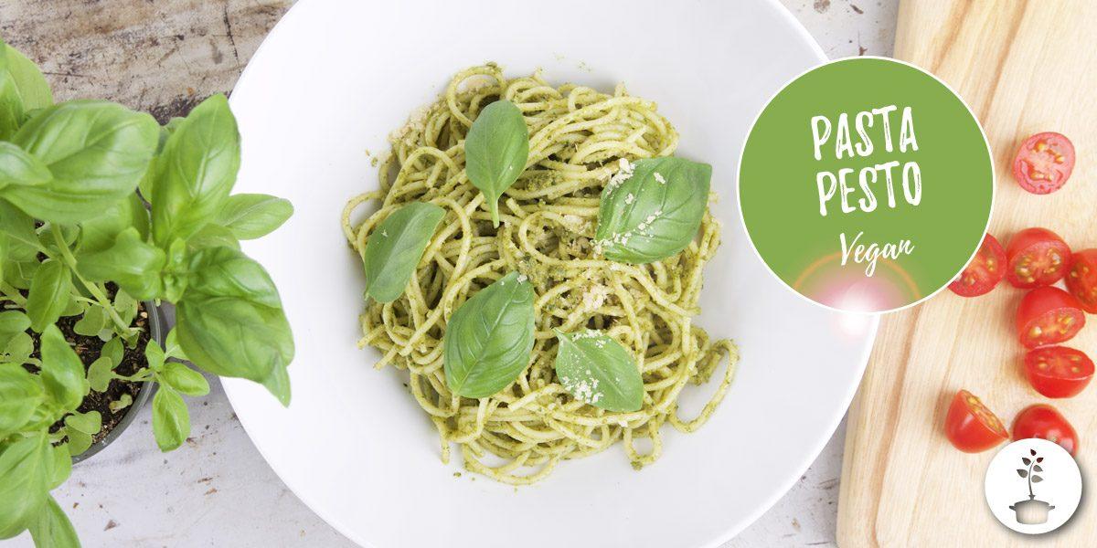 Pasta pesto recept - veganistisch