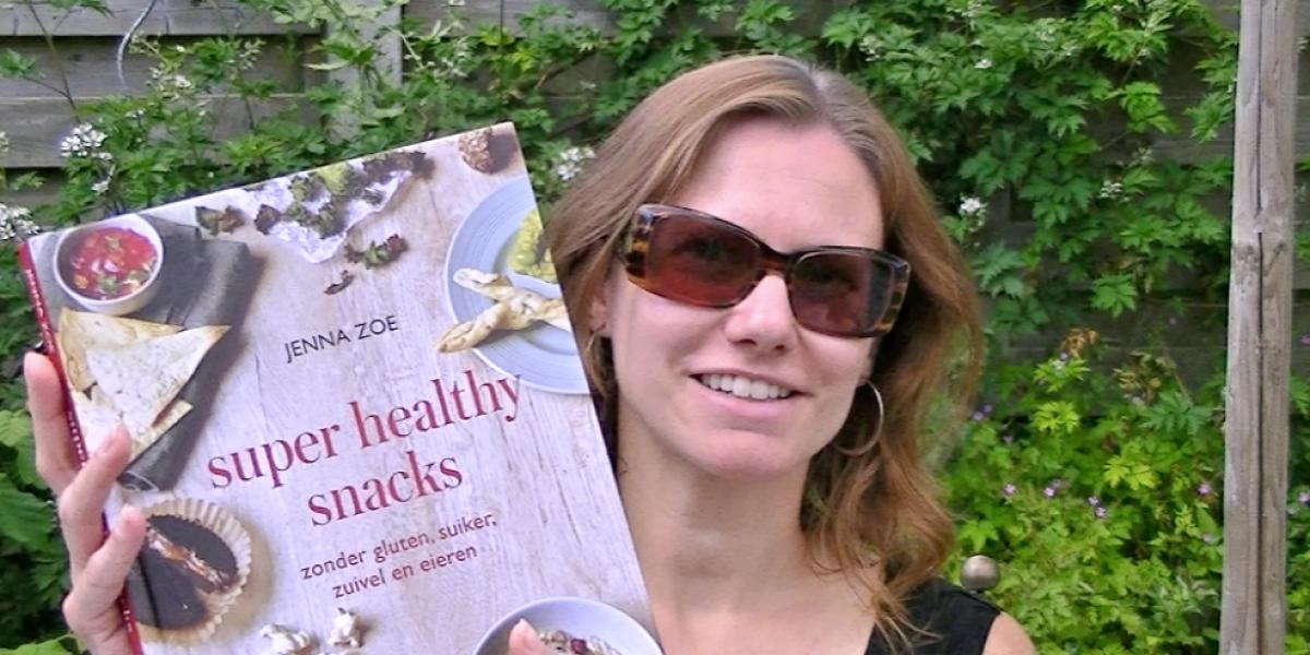 Super healthy snacks van Jenna Zoe - recensie