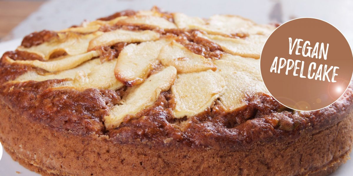 vegan appelcake recept