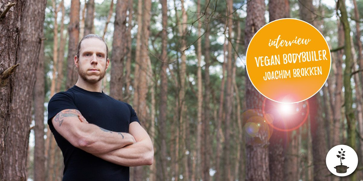 Vegan bodybuilder en powerlifter Joachim Brokken - interview