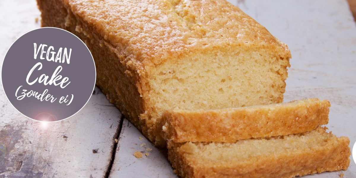 Vegan cake zonder ei