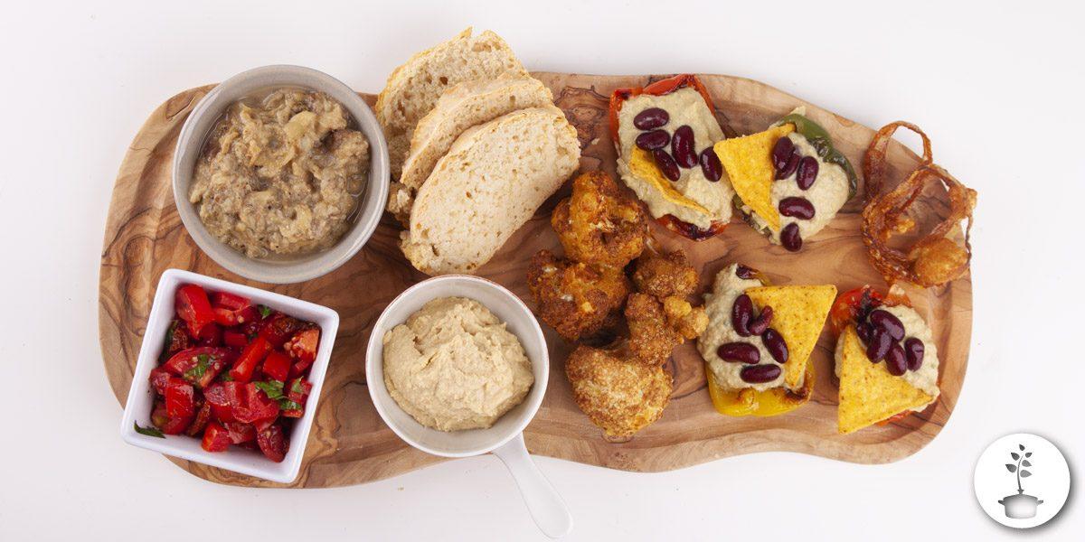 Vegan tapas ideetjes en recepten